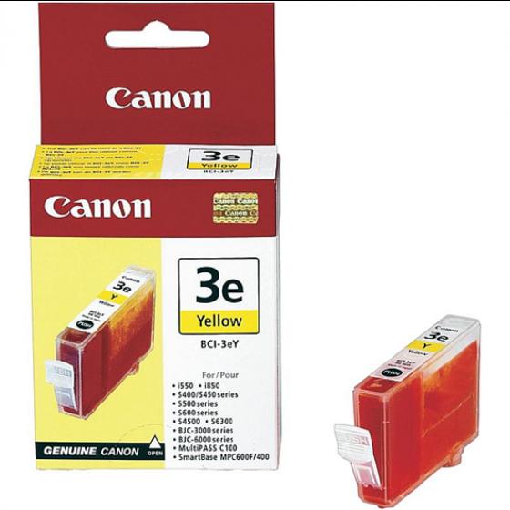 Original tinta Canon BCI3EY / BCI3-EY  Yellow 13ml