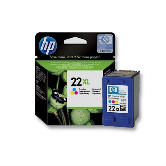 Originalna tinta HP C9352CE 3color No.22XL