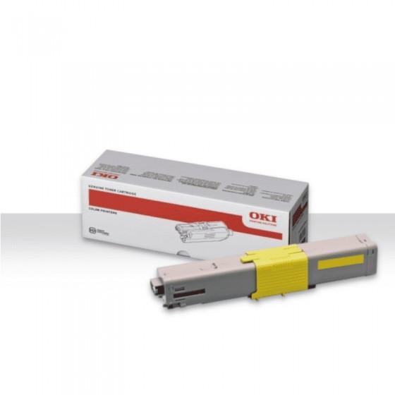Oki toner C532/542dn, MC563/573dn Yellow 1,5k original toner