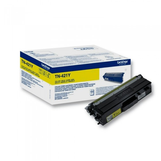 Originalni toner Brother TN421 Y 1,8k
