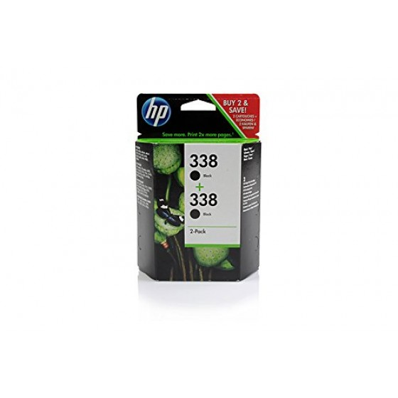 Originalna tinta HP CB331EE No.338 2 x 11ml Bk