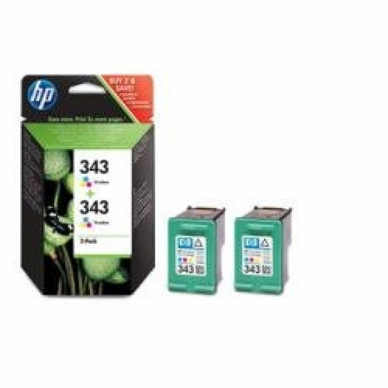 Originalna tinta HP CB332EE No.343 2x7ml colour