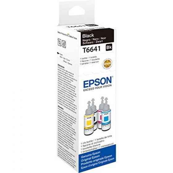 Originalna tinta Epson T6641 L110/210/550 Bk