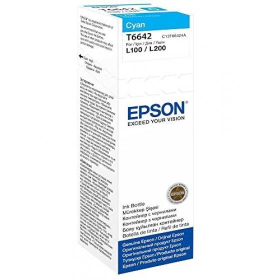 Originalna tinta Epson T6642 L110/210/550 C