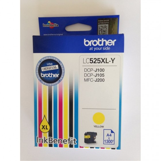 Originalna tinta Brother LC525XL Y